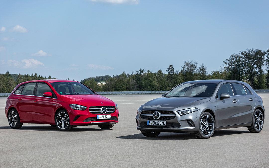 Mercedes-Benz: amplio abanico de híbridos enchufables de la tercera generación