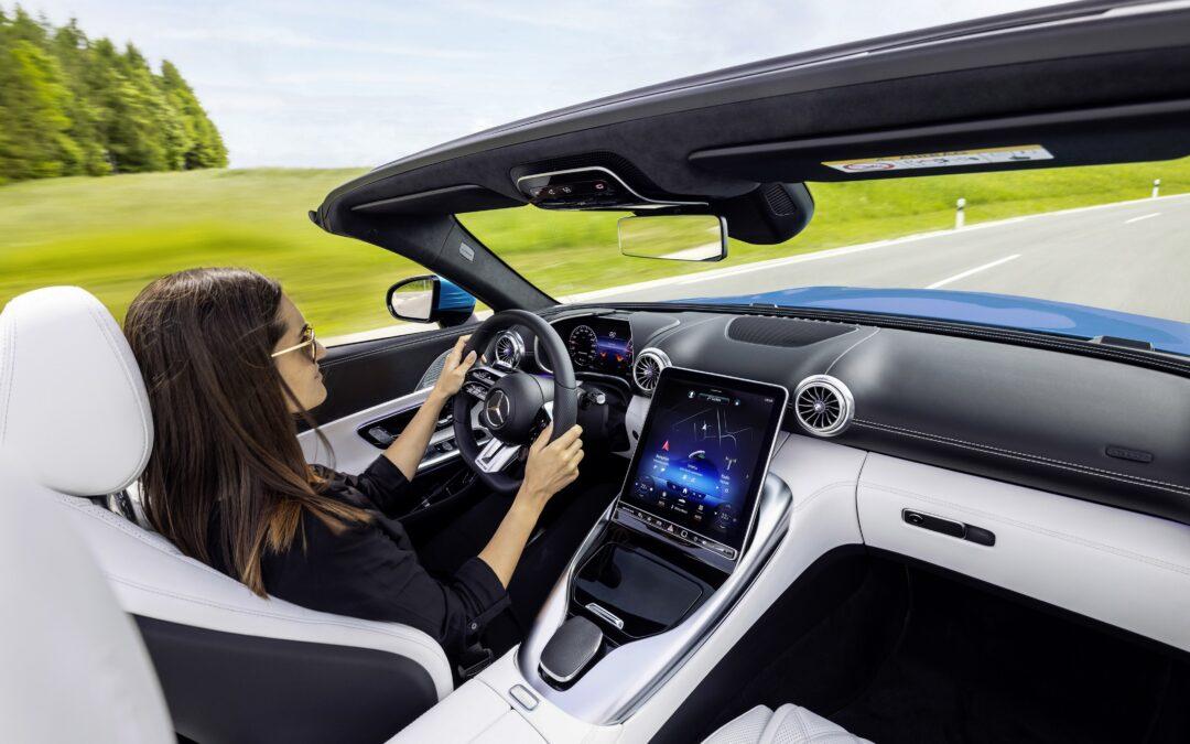 Descubriendo el exclusivo interior del nuevo Mercedes-AMG SL